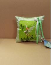 Detský vankúšik WD Víly Ilanit 16*16 cm zelený