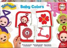 Detské puzzle Učíme sa farby Teletubbies Baby Colors Educa od 24 mesiacov