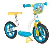 Balančné odrážadlo Learning Bike Smoby Peppa Pig s kovovou konštrukciou a nastaviteľným sedadlom 77*40*49 cm od 2 rokov 770107