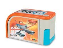 Staré položky - Letecký hangár Planes Fire&Rescue Smoby v kufríku s lietadlom Dusty_0