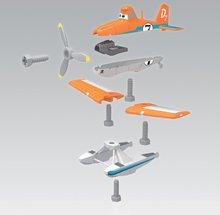 Pracovná detská dielňa - Pracovný stôl Lietadlá Smoby s lietadlom Dusty, mechanickou vŕtačkou a 80 doplnkami_4