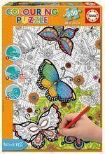 Puzzle Omaľovánky All good things are wild and free Doodle Art Educa 300 dielov od 11 rokov