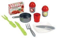 Obyčejné kuchyňky - Kuchyňka 100 % Chef Italian Écoiffier s 13 doplňky červeno-zelená od 18 měsíců_0