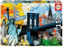 Puzzle Genuine Urban Freedom Educa 1500 delov od 11 leta