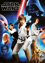 Puzzle Star Wars 40 Anniversary Epizóda 4 - Nová nádej Educa 1000 dielov od 11 rokov