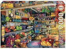 Puzzle Genuine Grocery Shop Educa 2000 delov od 11 leta