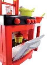 Običajne kuhinje - Kuhinja 100% Chef Pro Cook Écoiffier s pultom in 15 dodatki rdeča od 18 mes_1