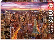 Puzzle Genuine Manhattan skyline Educa 3000 dielov EDU17131