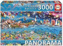 Puzzle Panorama Life Fragment Educa 3000 dílů od 11 let