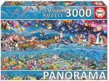 Puzzle Panorama Life Fragment Educa 3000 dielov od 11 rokov
