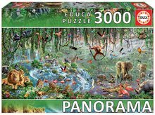 Puzzle panorama Wildlife ( fragment) Educa 3000 dielov EDU17133