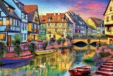 Puzzle Genuine Kanál Colmar Francúzsko Educa 4000 dielov od 11 rokov