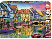 Puzzle Genuine Colmar Canal, France Educa 4000 dielov EDU17134