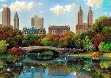 Puzzle Genuine Central Park Bow Bridge, Alexander Chen Educa 8000 dílů od 11 let