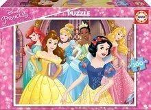 Detské puzzle Disney Princezné Educa 100 dielov od 6 rokov