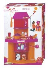Obyčejné kuchyňky - Kuchyňka Super Shop Écoiffier s 19 doplňky oranžovo-růžová od 18 měsíců_0