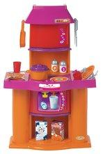 Obyčejné kuchyňky - Kuchyňka Super Shop Écoiffier s 19 doplňky oranžovo-růžová od 18 měsíců_1