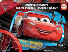 Detské podlahové puzzle Cars3 Educa Giant 33 EDU17180