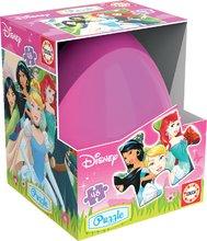 Detské puzzle vo vajíčku Disney Princezné Educa 48 dielov od 5 rokov