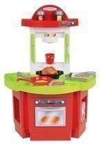 Kuchynka Écoiffier s panvicou 60 cm vysoká červeno-zelená od 18 mes