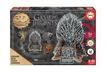 3D Monument puzzle z dreva Iron Throne Educa 56 dielov  24*19*19 cm EDU17207