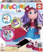 Păpuşa Fofuchas cântăreaţa Lisa Educa Îmbrac-o singură de la 6 ani