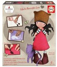 Păpuşă stilată Fofuchas Purrrrrfect Love Gorjuss Santoro Educa Îmbracă-o singură de la 6 ani