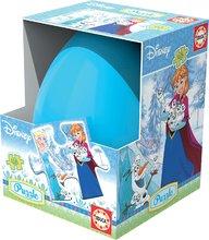 Detské puzzle vo vajíčku Frozen Educa 48 dielov od 5 rokov