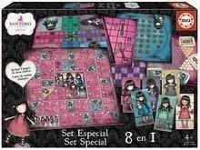 Joc de societate Gorjuss 8in1 Special set Educa în limba engleză