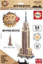 Drevené puzzle 3D Empire State Building Mini Monument Educa od 6 rokov 34 dielov