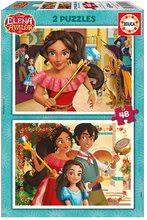 Puzzle Elena de Avalor Educa 2x 48 dielov od 5 rokov
