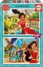 Puzzle pre deti Elena de Avalor 2x100 dielov 17402