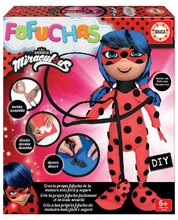Stílusos játékbaba Fofuchas Miraculous Ladybug Gorjuss Santoro Educa Öltöztesd fel magad 6 éves kortól