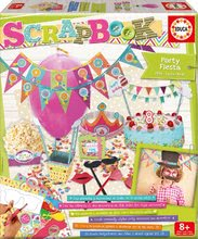 Kreativni set Scrapbook Party Fiesta Educa praznovanje za spretne roke od 6 leta