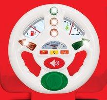 Odrážadlá so zvukom - Activity odrážadlo auto Kiddieland červené so zvukom a svetlom, 12-36 mesiacov červené so zvukom a svetlom_0