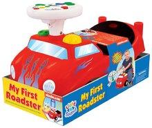 Odrážadlá so zvukom - Activity odrážadlo auto Kiddieland červené so zvukom a svetlom, 12-36 mesiacov červené so zvukom a svetlom_1