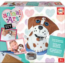 Kreatívny set Animal Art Educa Vyrob si svojho psíka a jeho doplnky od 6 rokov 17421