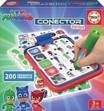 Társasjáték Pizsihősök Conector junior Educa 40 kártyalappal, 200 kérdéssel és intelligens tollal