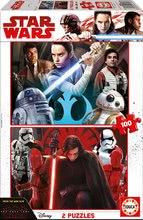 Puzzle Star Wars: Epizoda VIII - Poslední Jedi Educa 2x100 dílů od 6 let