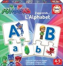 Naučná hra Učíme se Abecedu PJ Masks Educa s obrázky a písmeny 78 dílů od 4-5 let