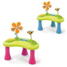Staré položky - Sedátko so stolíkom Cotoons Cosy Seat Smoby s didaktickým stolíkom ružové od 6 mes_5