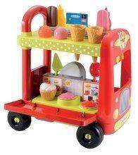 Trgovine za otroke - Sladoledarski voziček 100% Chef Écoiffier s hamburgerji z 29 dodatki od 18 mes_0