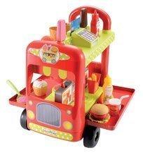 Trgovine za otroke - Sladoledarski voziček 100% Chef Écoiffier s hamburgerji z 29 dodatki od 18 mes_1