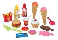 Trgovine za otroke - Sladoledarski voziček 100% Chef Écoiffier s hamburgerji z 29 dodatki od 18 mes_2