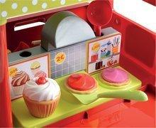 Trgovine za otroke - Sladoledarski voziček 100% Chef Écoiffier s hamburgerji z 29 dodatki od 18 mes_6