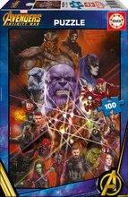 Puzzle Avengers: Infinity War Educa 100 delov od 6 leta