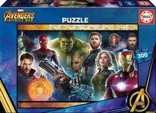 Puzzle copii Avengers: Infinity War Educa 300 de piese de la 9 ani