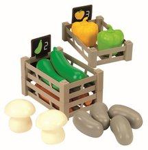 Obchody pre deti - Zeleninový stánok 100% Chef Écoiffier s pokladňou, nákupným vozíkom a 65 doplnkami od 18 mes_4