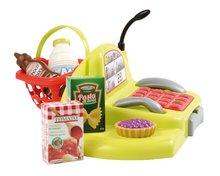 Obchody pre deti - Zeleninový stánok 100% Chef Écoiffier s pokladňou, nákupným vozíkom a 65 doplnkami od 18 mes_5