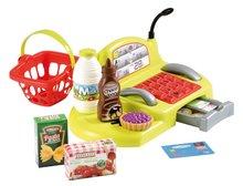Obchody pre deti - Zeleninový stánok 100% Chef Écoiffier s pokladňou, nákupným vozíkom a 65 doplnkami od 18 mes_7